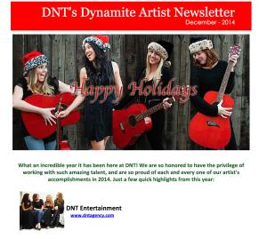 DNT December Newsletter